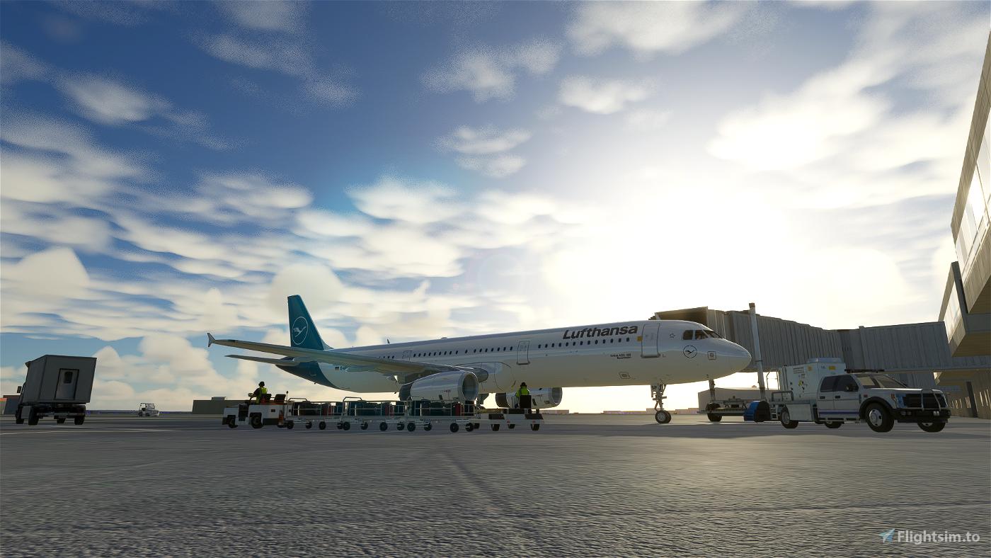 A321 Lufthansa [8K/4K] Flight Simulator 2020
