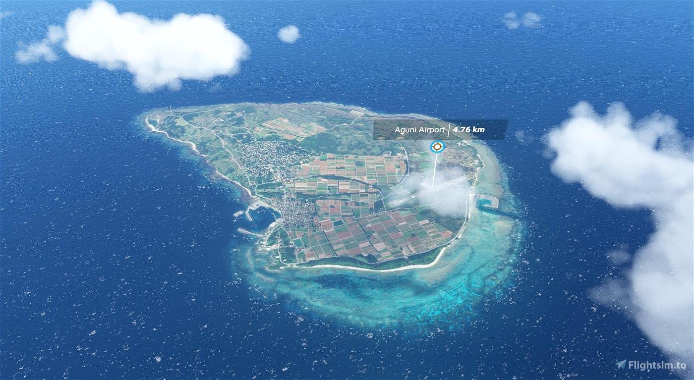 RORA Aguni Airport Microsoft Flight Simulator