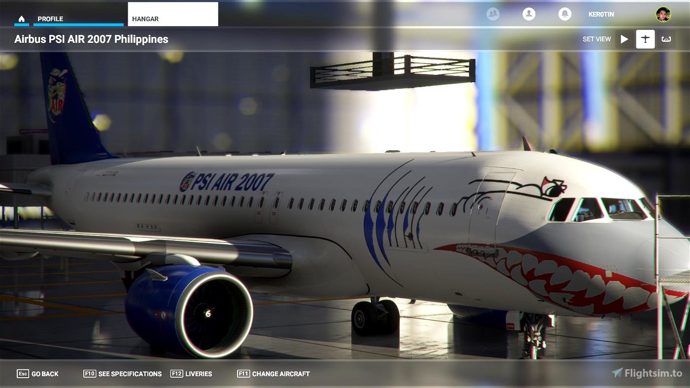 PSI AIR 2007 Philippines Flight Simulator 2020