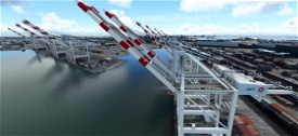 San Pedro Bay Port Facilities, Los Angeles & Long Beach CA USA V1.2 Image Flight Simulator 2020