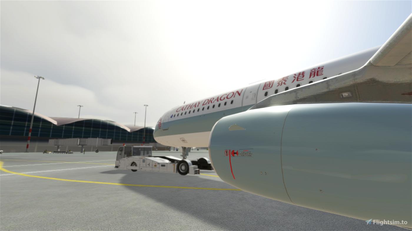 A321 Cathay Dragon [8K/4K]