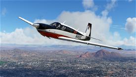 Copper Livery for Carenado Mooney Image Flight Simulator 2020
