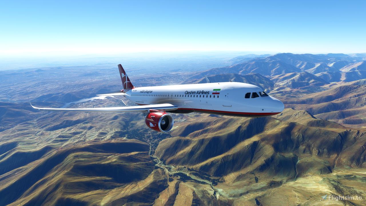 Iran Qeshm Air A320 Neo