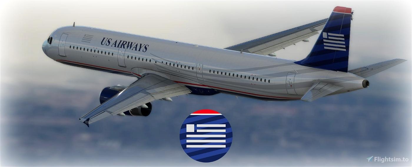 US Airways A321 [4K] Flight Simulator 2020