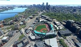 Fenway Park, Boston MA USA Image Flight Simulator 2020