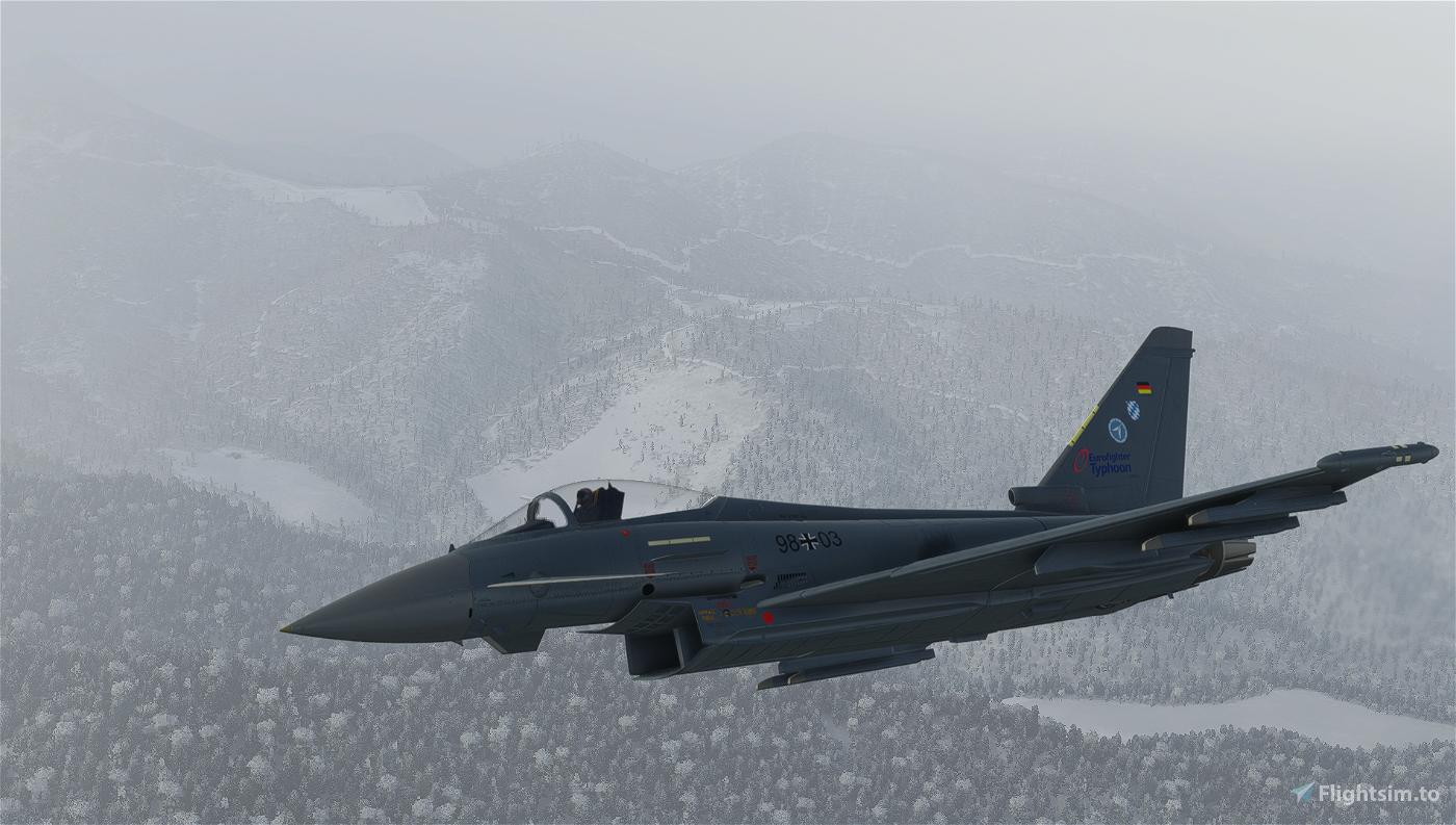 German Airforce Basepack for EUROFIGHTER (BREDOK3D)