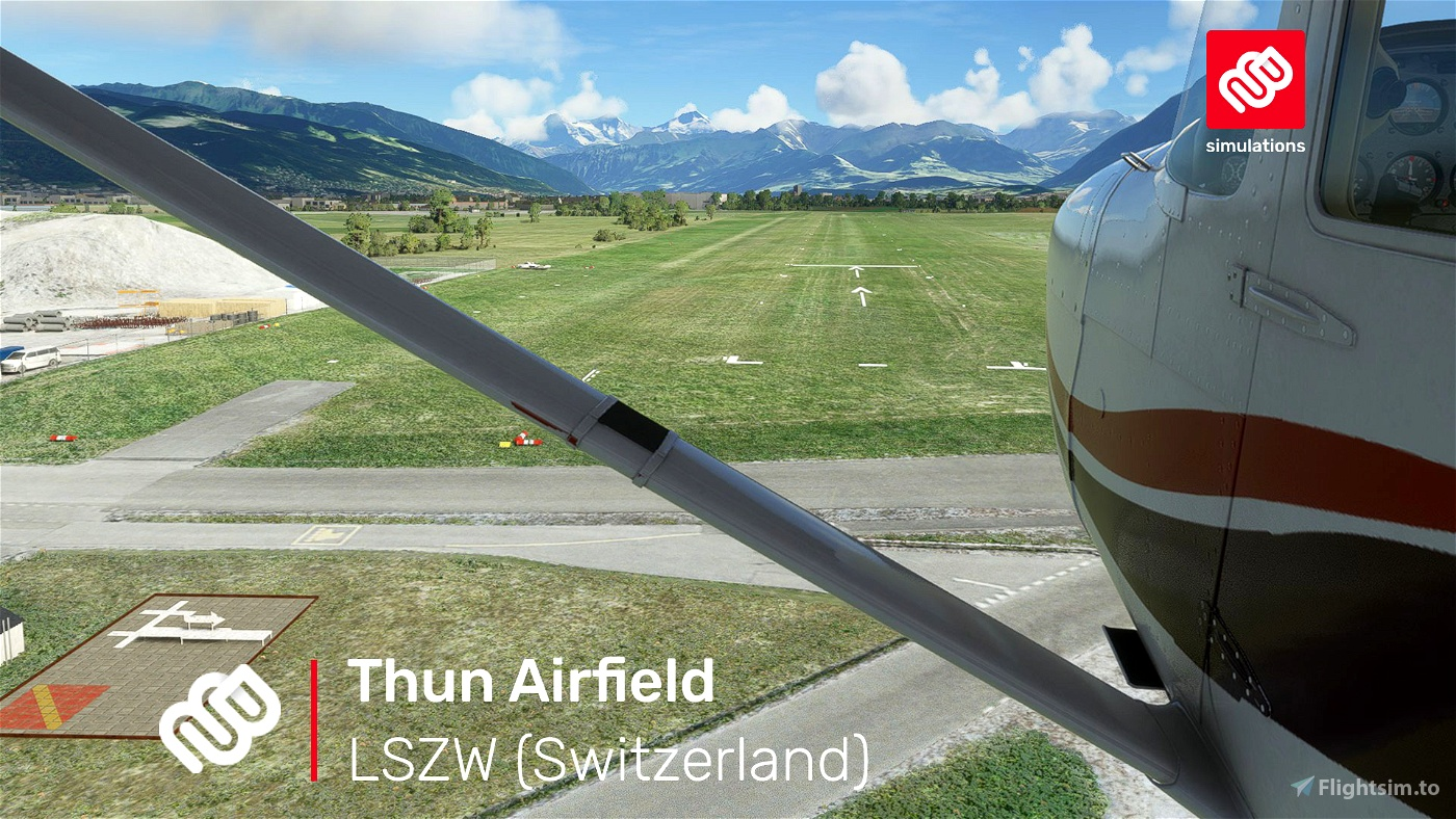 LSZW – Thun Airfield Flight Simulator 2020