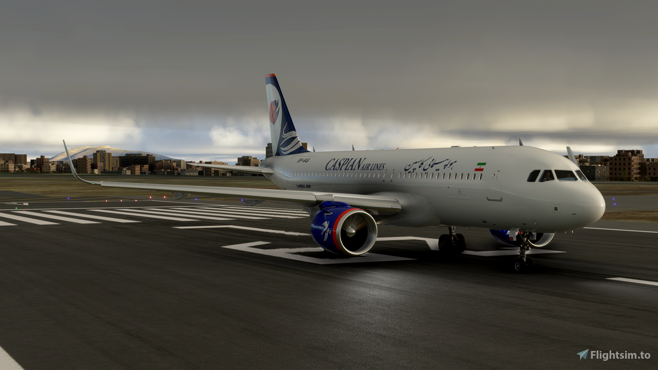 Caspian Airlines A320 Neo