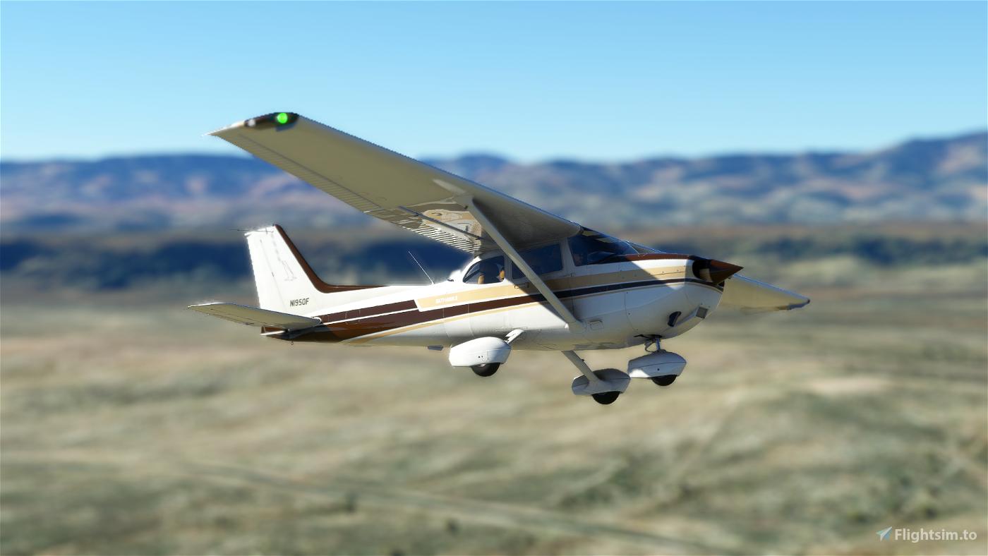 Asobo Cessna 172 N1950F (Classic) Flight Simulator 2020