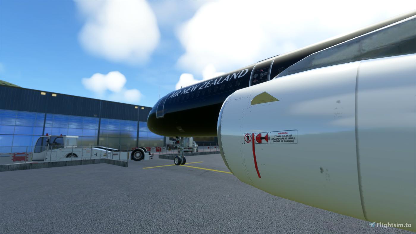 A321 Air New Zealand | Black [8K/4K]