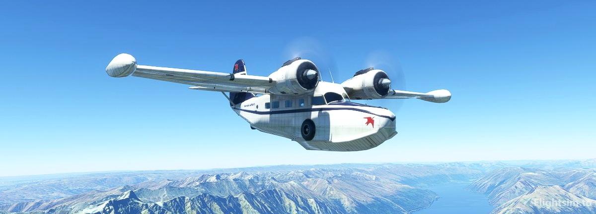 Grumman Goose VP-BBK Bahamas Airlines Flight Simulator 2020