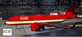 A320Neo Calgary Flames Microsoft Flight Simulator