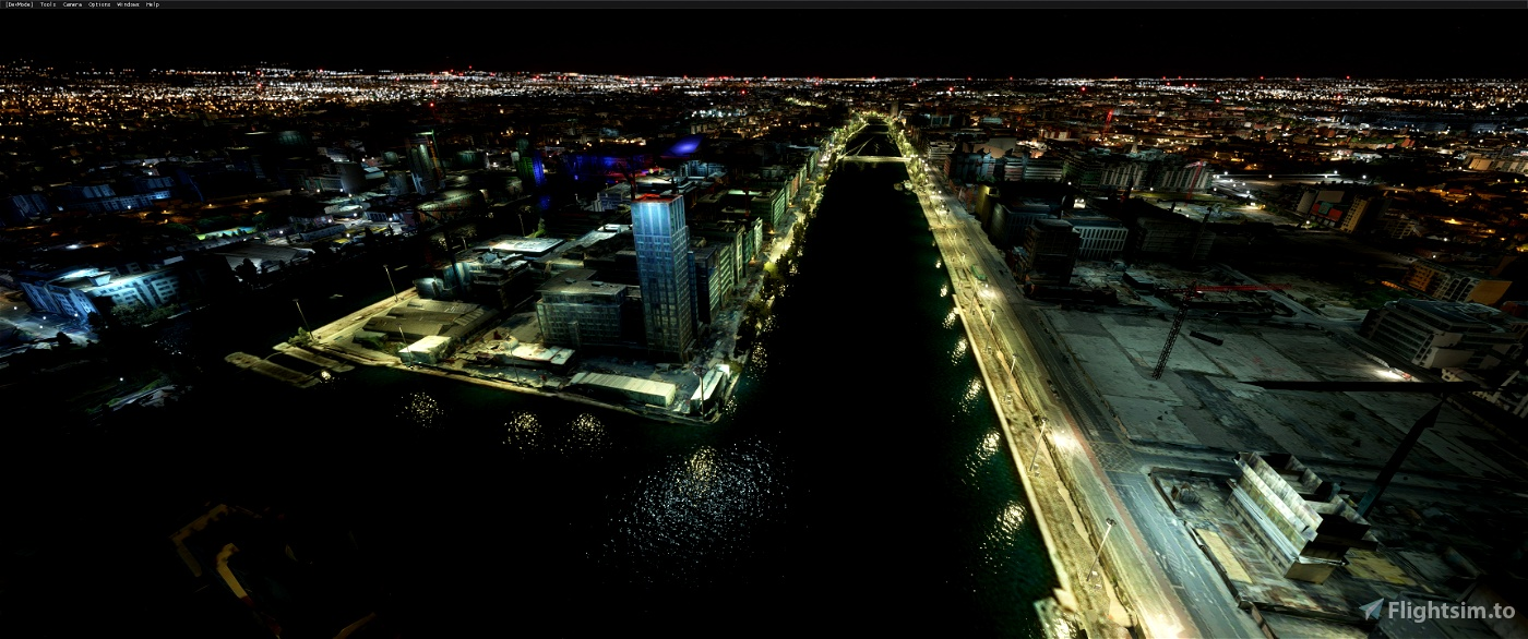 DUBLIN CITY,Eire • Flight Simulator 2020