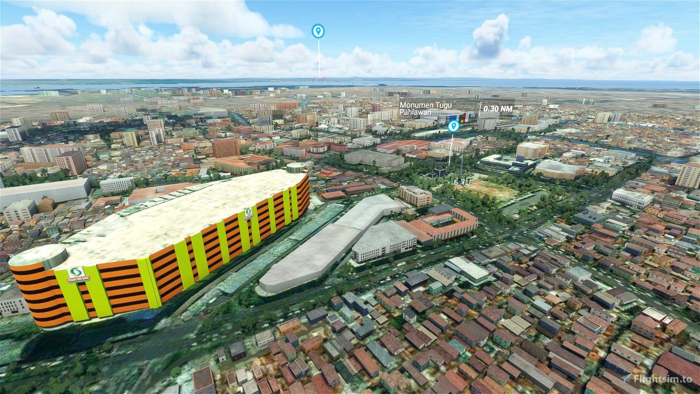 Surabaya Overhaul Flight Simulator 2020