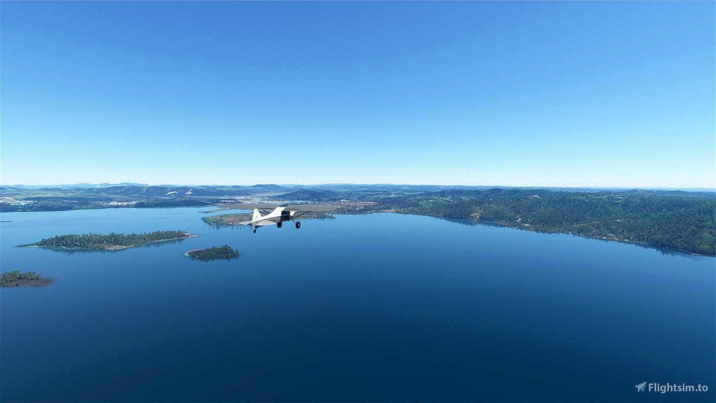 Bushtrip/Wildnisflug (NZWR-NZWO) English/German Flight Simulator 2020