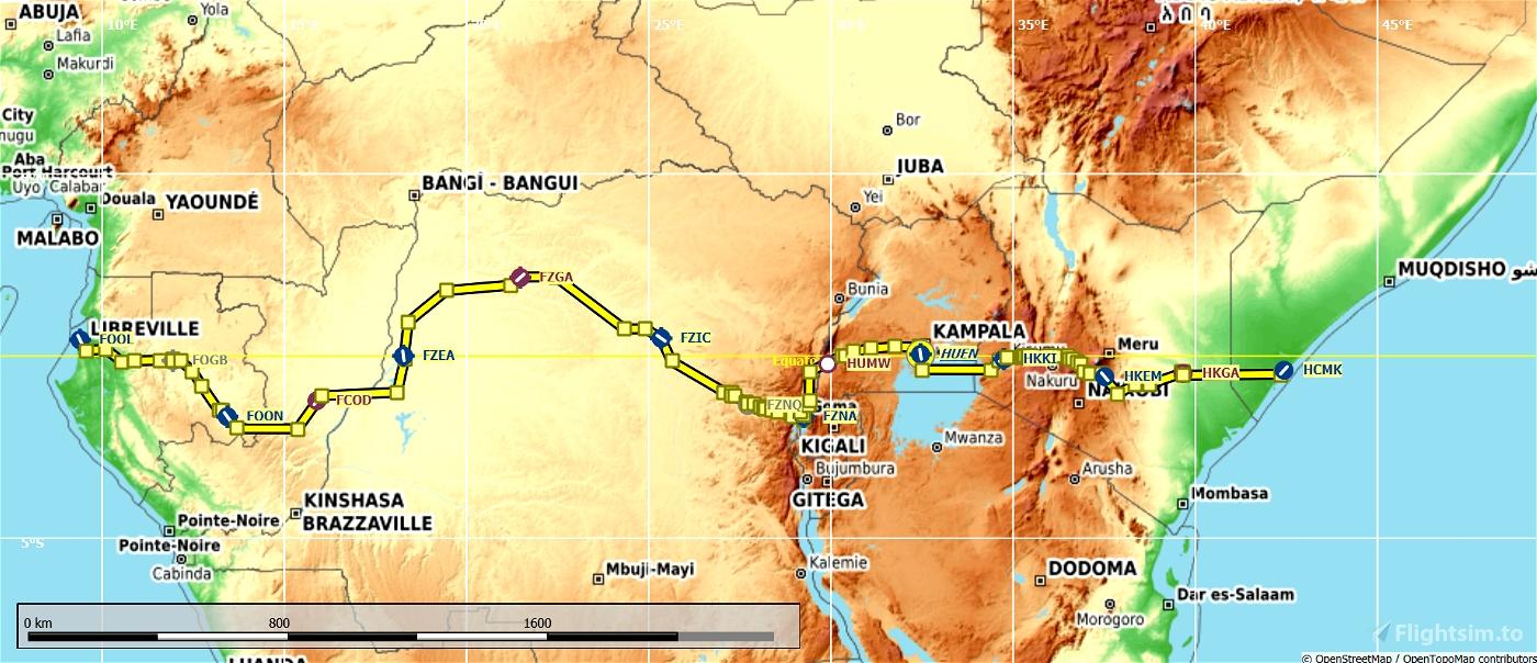 Africa Equator Bush Trip