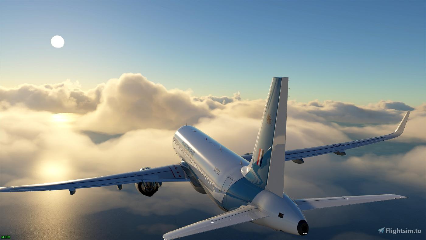 Asobo A320 NEO 40 SQN ROYAL NEW ZEALAND AIR FORCE 4K