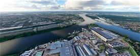 Royal IHC Shipyard close to Rotterdam Image Flight Simulator 2020