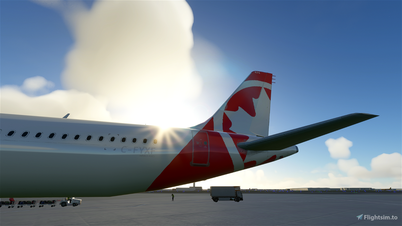 A321 Air Canada Rouge [8K/4K]