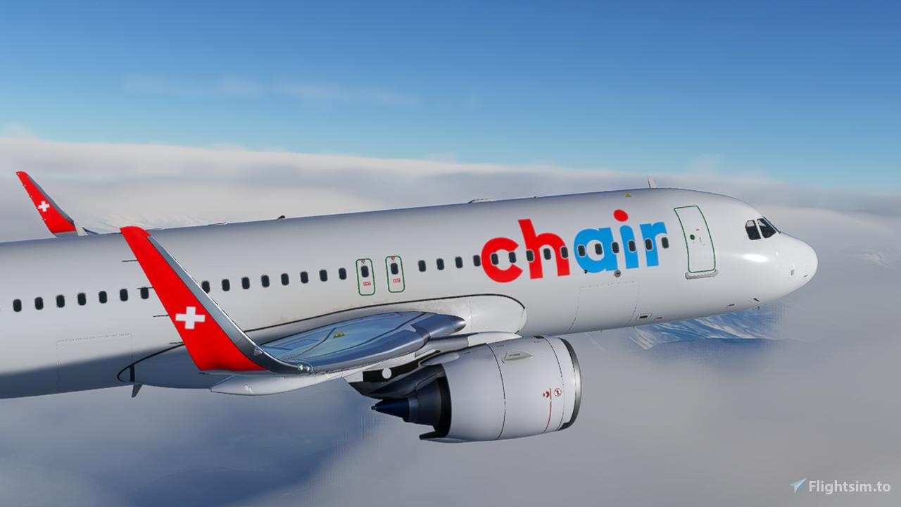 Chair Airlines [4K] Flight Simulator 2020