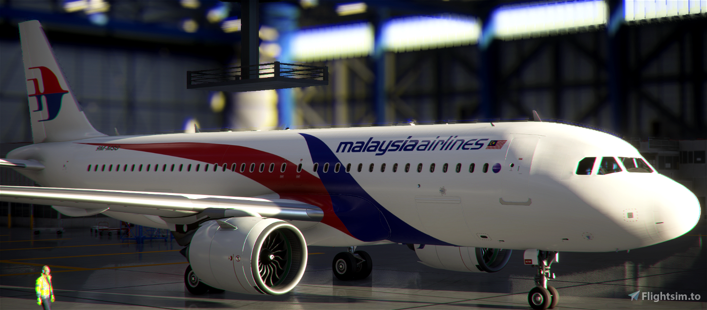 Malaysia airlines Livery  Flight Simulator 2020