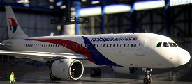 Malaysia airlines Livery  Image Flight Simulator 2020