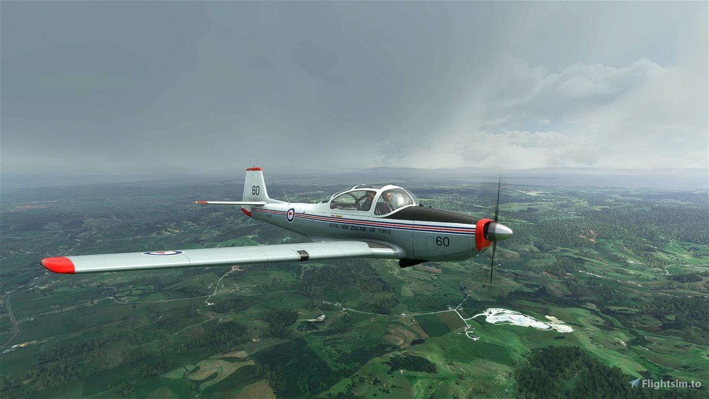 Piaggio P.149 RNZAF Flight Simulator 2020