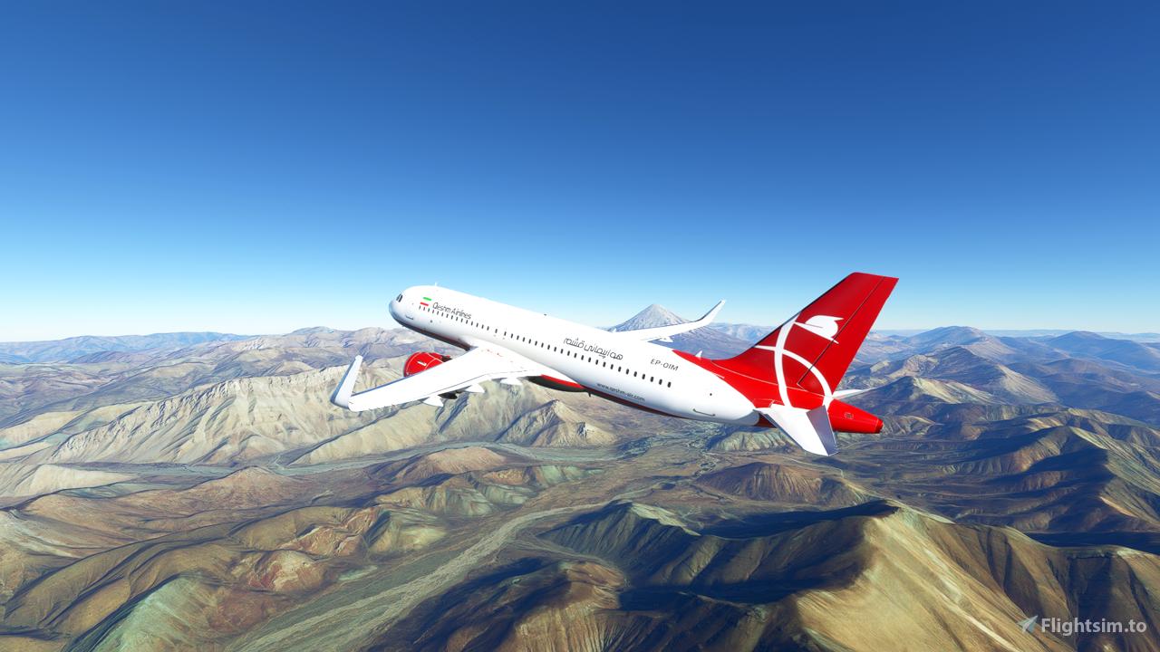 Iran Qeshm Air A320 Neo Flight Simulator 2020