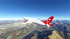Iran Qeshm Air A320 Neo Image Flight Simulator 2020