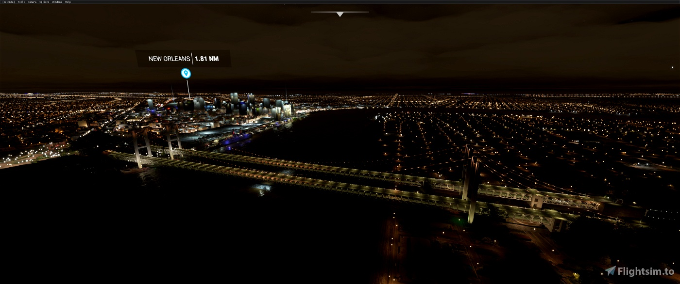 New Orleans USA Bridge Fix