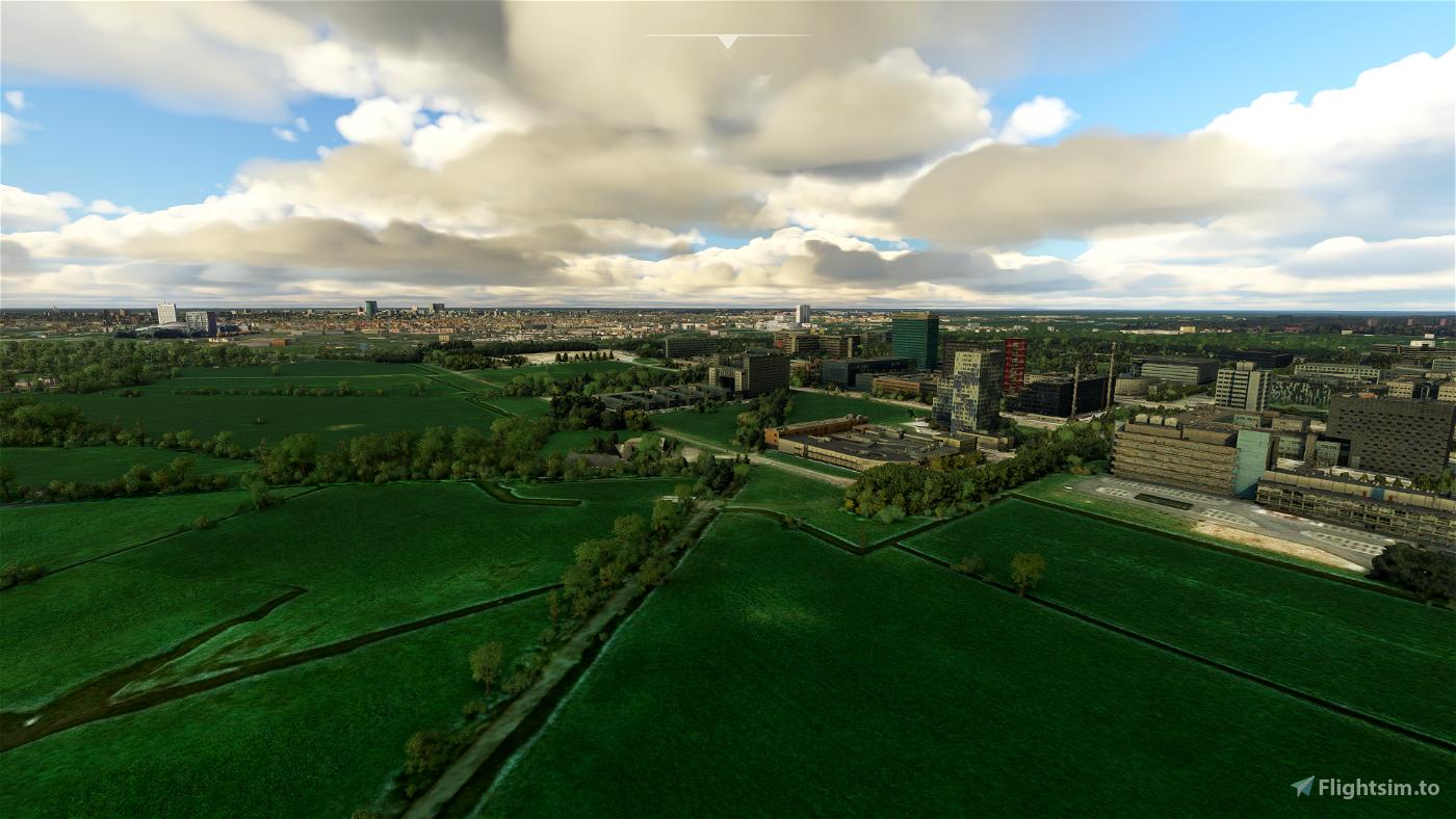 Utrecht-Uithof Flight Simulator 2020