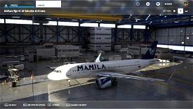 A32NX Spirit of Manila Airlines Image Flight Simulator 2020
