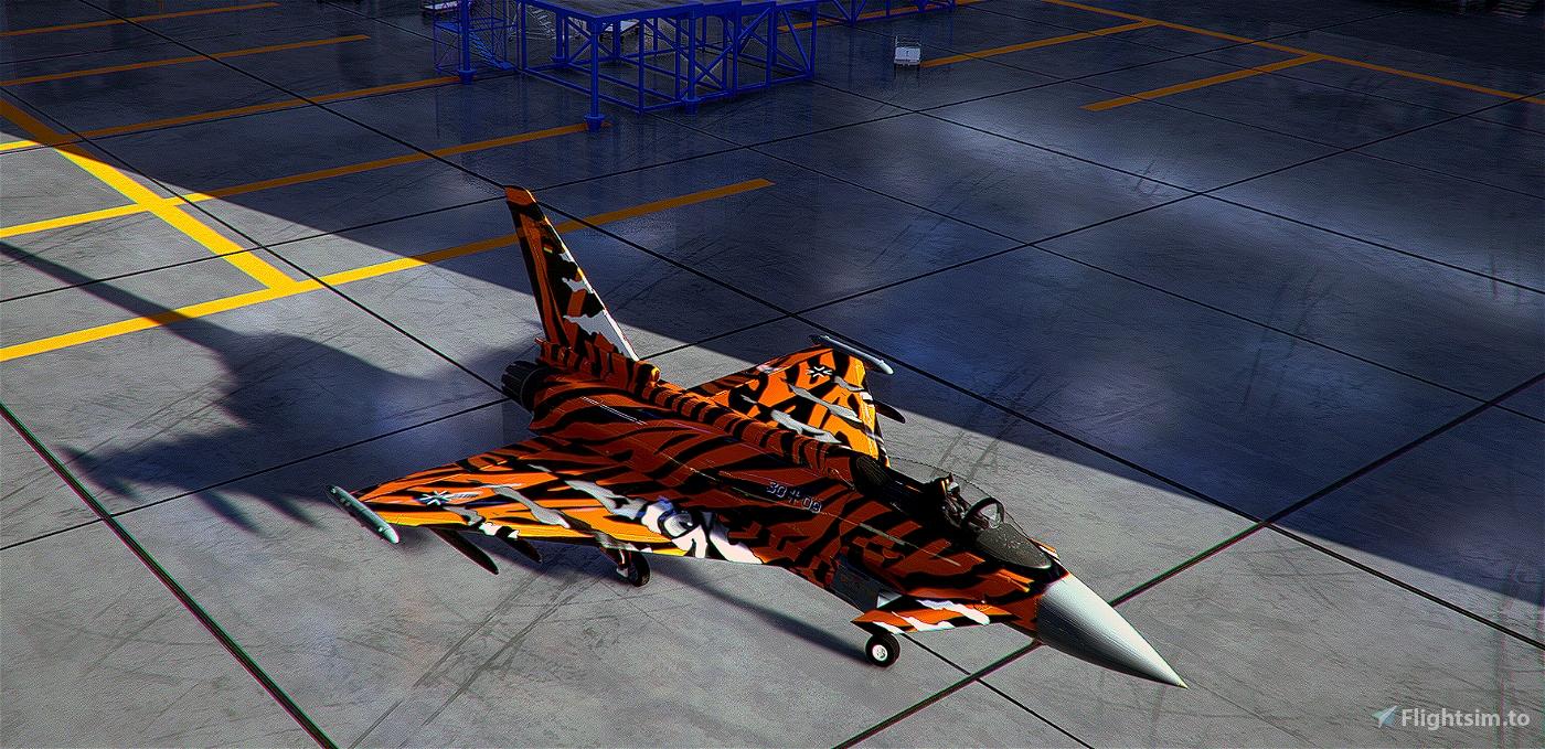 IAZ-EurofighterTyphoon-Livery GhostTiger Bronze Flight Simulator 2020