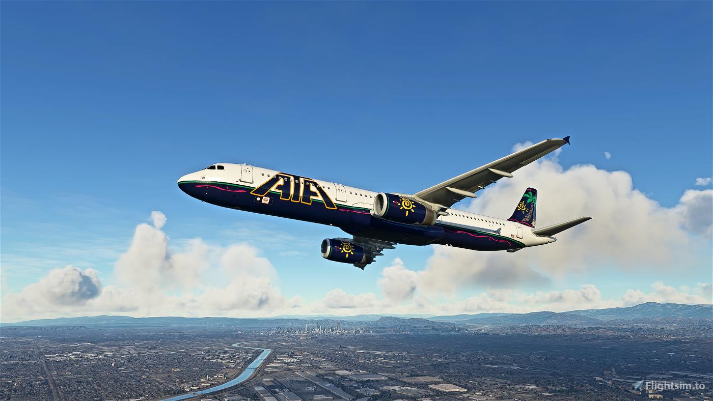 ATA (American Trans Air) A321