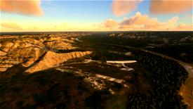 Theodore Roosevelt National Park Flight Plan Image Flight Simulator 2020