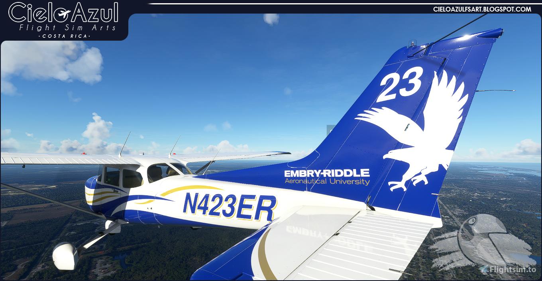 Embry-Riddle | N423ER | Asobo Cessna C172SP G1000 (8K)