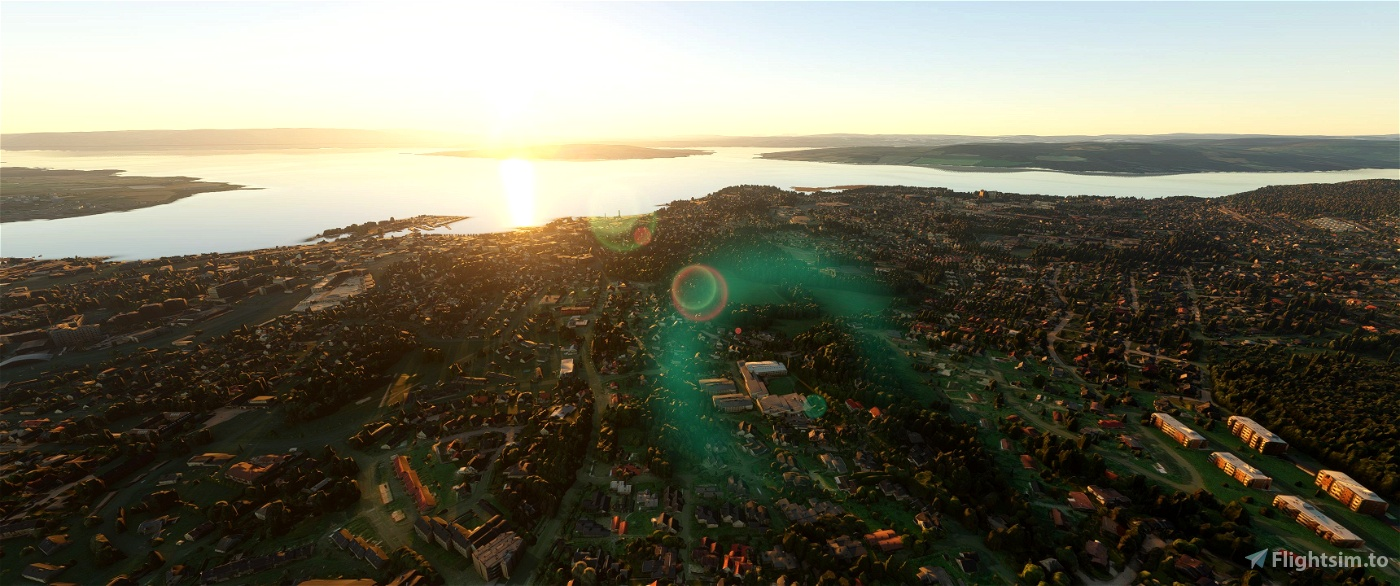 Hamar Photogrammetry Scenery • Flight Simulator 2020