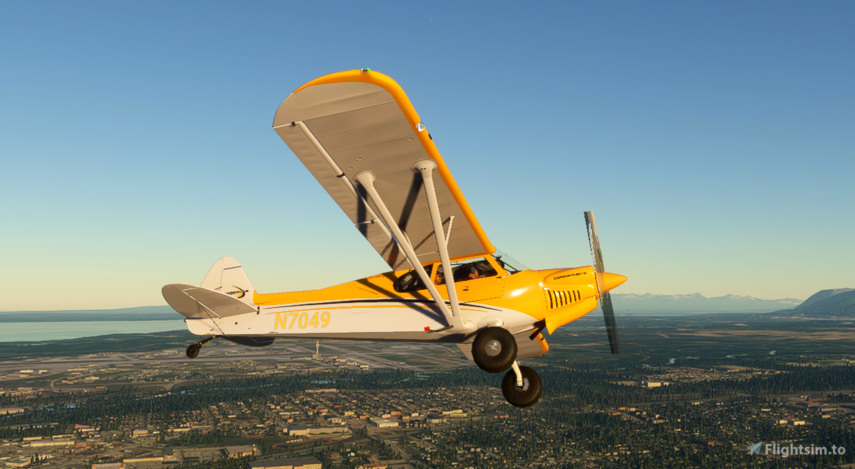 Yellow Carbon Cub Repaint for xCub