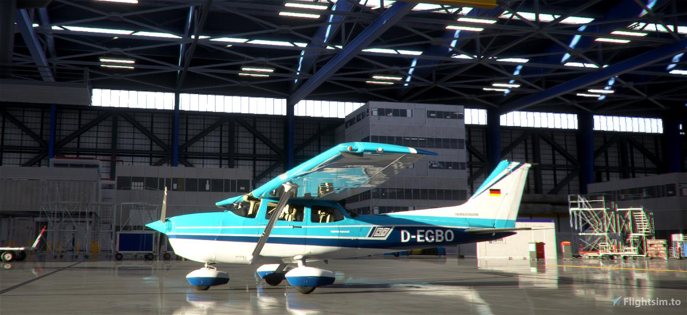 Cessna 172 Classic D-EGBQ Flight Simulator 2020