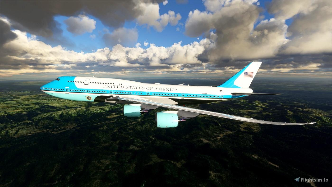 Air Force One Flight Simulator 2020