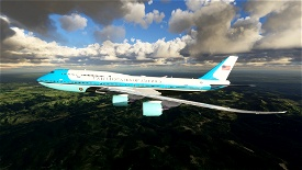 Air Force One Image Flight Simulator 2020