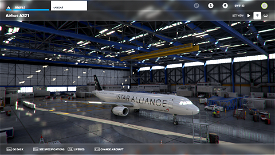 A321 Asiana Airlines Star Alliance Livery Image Flight Simulator 2020