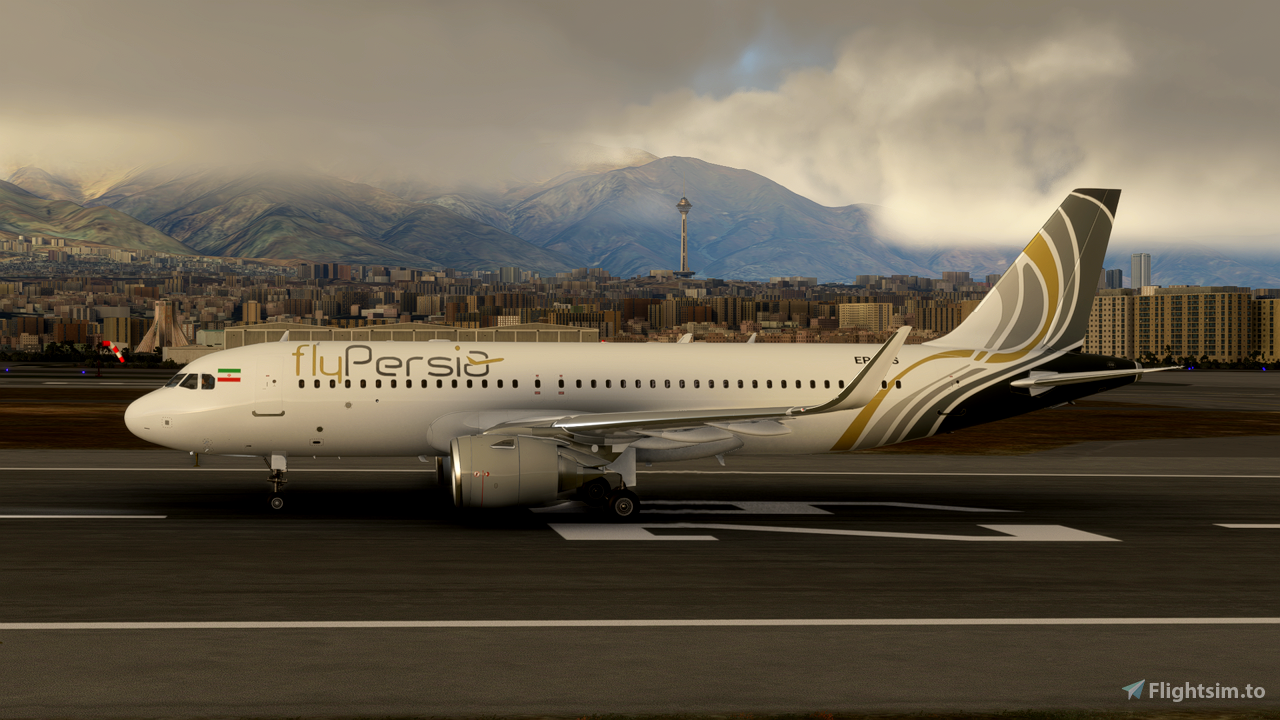 Fly Persia A320 Neo - 8K Flight Simulator 2020