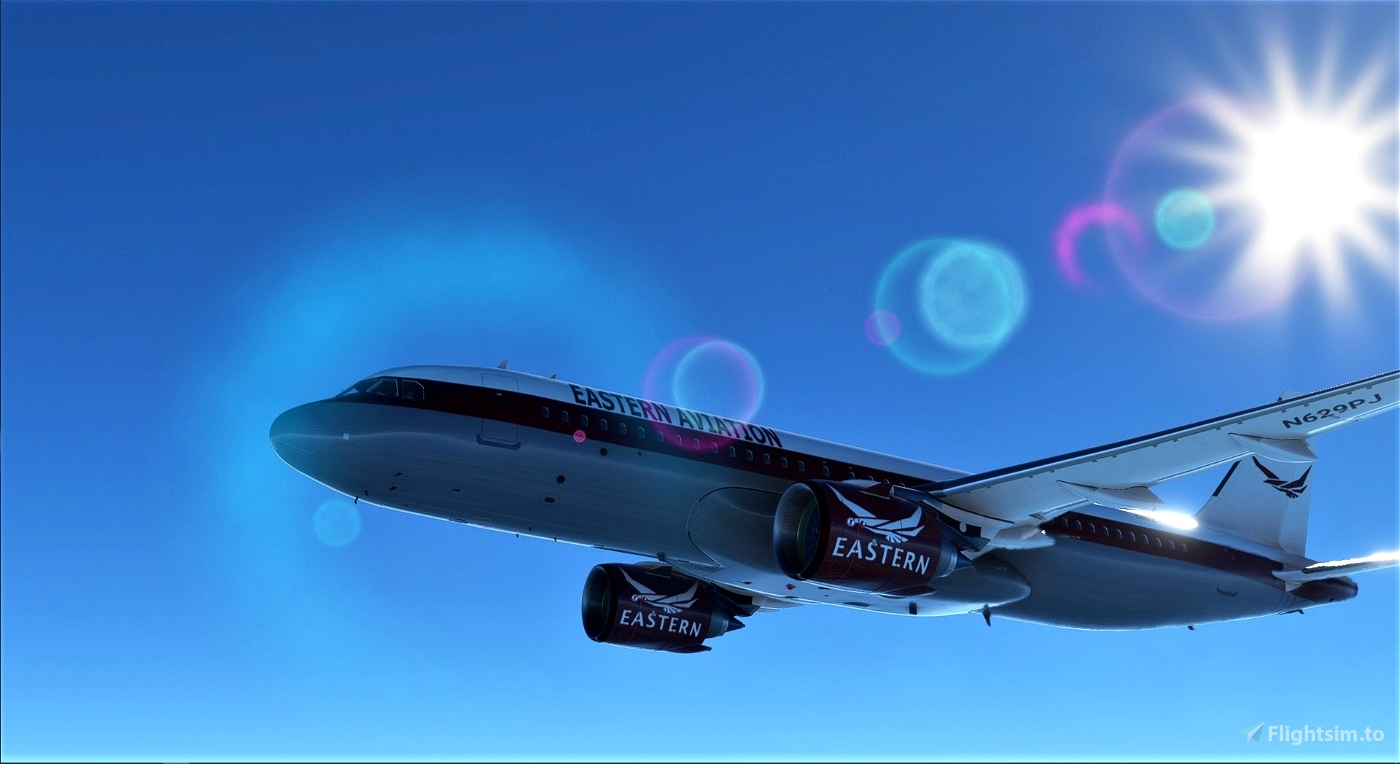 A320 NEO Eastern Aviation Virtual Airlines Livery