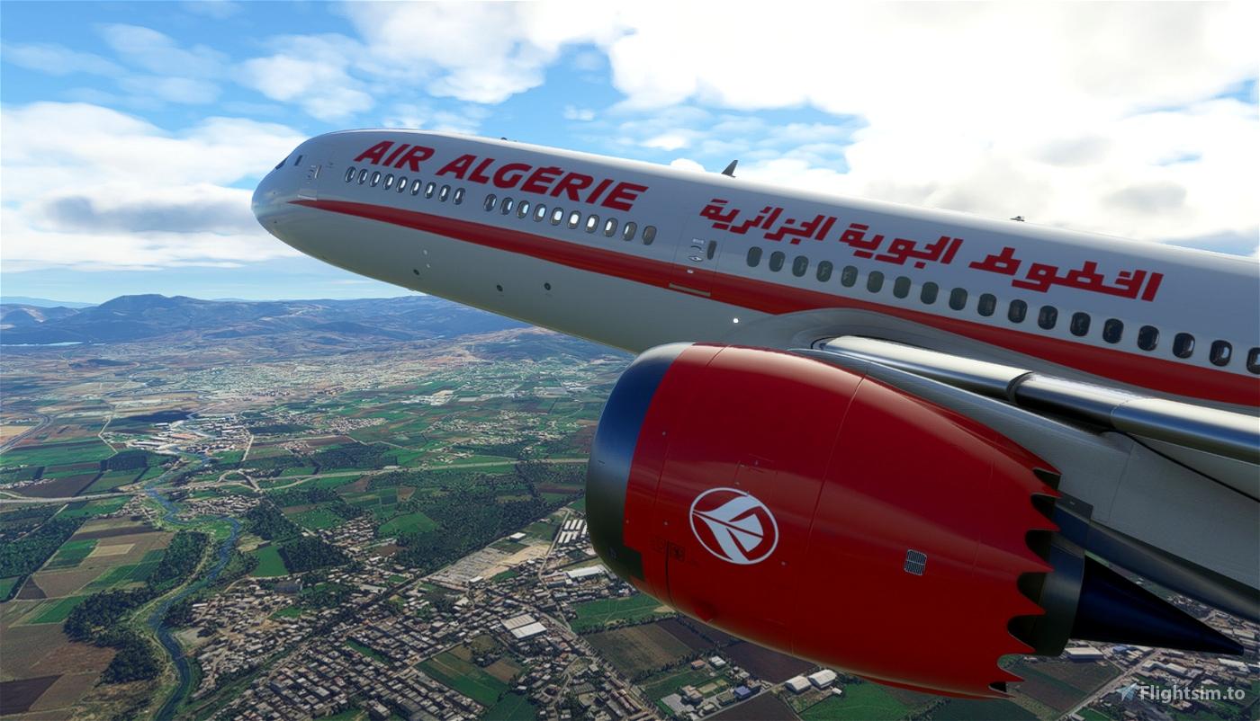Air Algérie 787-10 [4K]