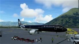 A321 Air New Zealand | Black [8K/4K] Image Flight Simulator 2020