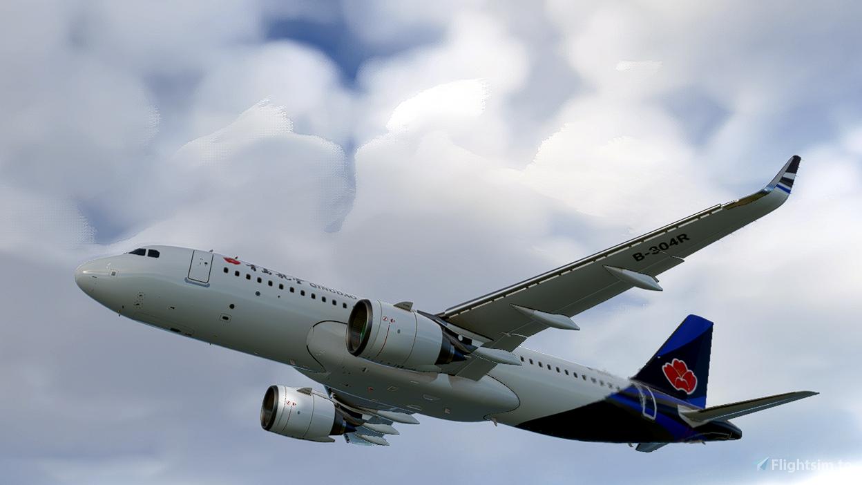 Qingdao Airlines [4K]