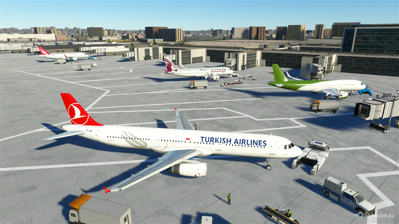 A321 Turkish Airlines [8K/4K] Flight Simulator 2020