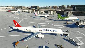 A321 Turkish Airlines [8K/4K] Image Flight Simulator 2020