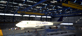 B747-8 Saudia Cargo HZ-AI4 [8K] Image Flight Simulator 2020
